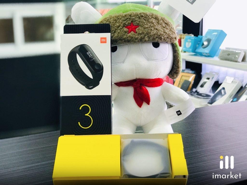 Фитнес-трекер Xiaomi Mi Band 3 Black | Чёрный