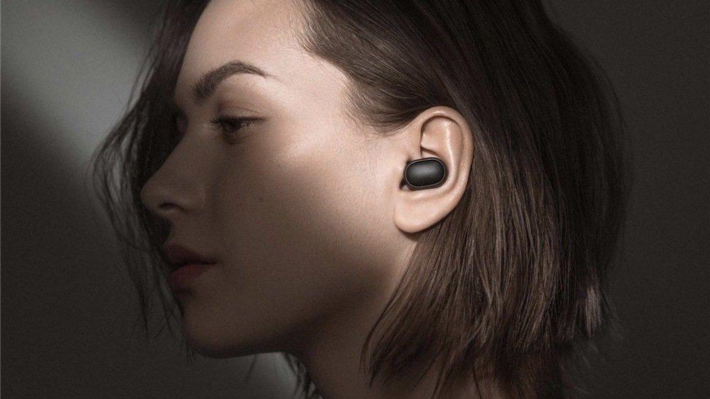 Беспроводные Bluetooth наушники Xiaomi Redmi AirDots (CN) Black | Чёрные