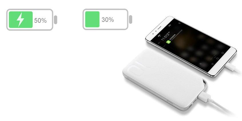 Внешний аккумулятор Huawei Honor AP08L на 10 000 mAh White | Белый