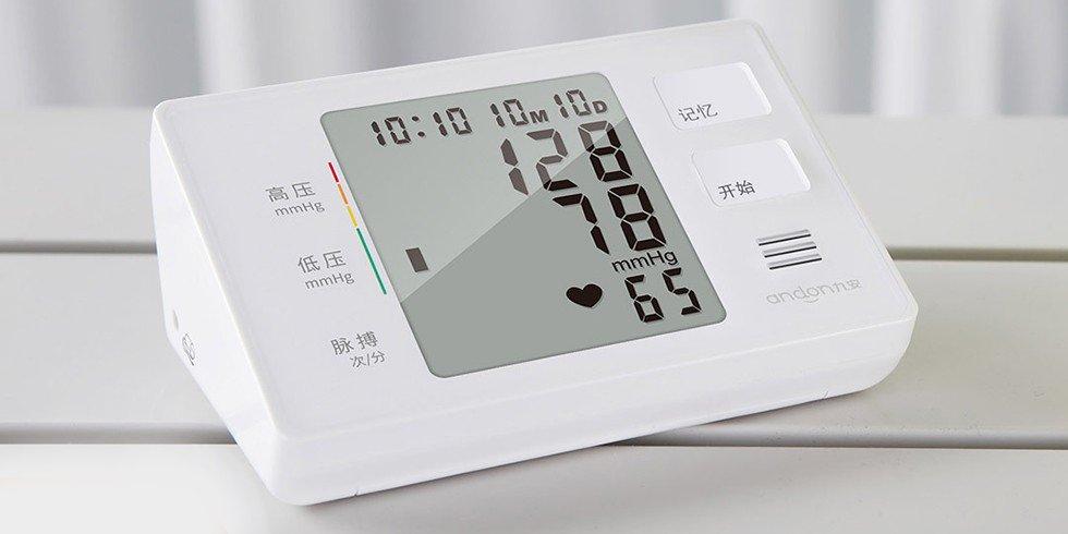 Тонометр Xiaomi Andon Electronic Blood Pressure Monitor Белый | White