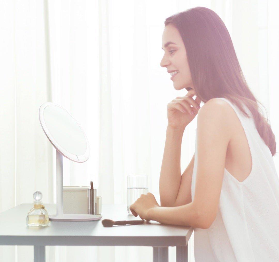 Зеркало для макияжа Xiaomi Amiro Lux High Color Mini