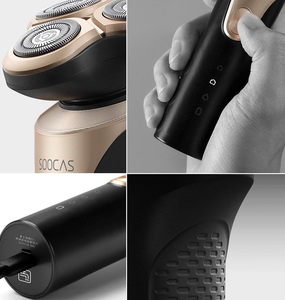 Xiaomi Soocas Smooth Electric Shaver S3 Черный | Black