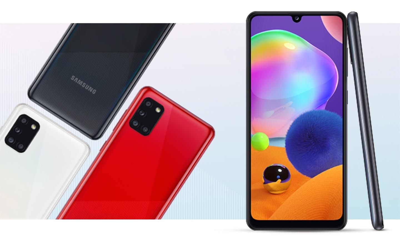 Смартфоны Samsung Galaxy A31